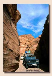 Jeepsafari in Jordanien